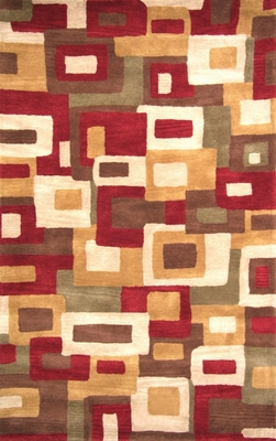 100% Wool Handmade Rug - Lifestyle 9310 - 8' x 10' - International Rugs - SI-SAM-LIFESTYLE-9310-2