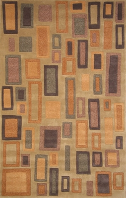 100% Wool Handmade Rug - Lifestyle 9325 - 8' x 10' - International Rugs - SI-SAM-LIFESTYLE-9325-2