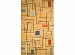 100% Wool Handmade Rug - Lifestyle 9330 - 5' x 8' - International Rugs - SI-SAM-LIFESTYLE-9330-1