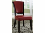 1036 Upholstered Red Side Chair - Set of 2 - 103682RED