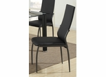 103750 Black Dining Chair - Set of 2 - 103752