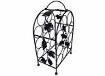 11 Bottle Wine Rack with Grape Vines - Pangaea Home and Garden Furniture - BT-W057-K