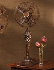 "12"" Deco Table Top Fan - Cantalonia- Deco Breeze - DBF0440"