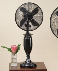 "12"" Table Top Fan - Blackwood- Deco Breeze - DBF0555"