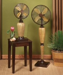 "12"" Table Top Fan - Kailua- Deco Breeze - DBF0533"