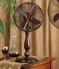 "12"" Table Top Fan - Sutter- Deco Breeze - DBF0349"