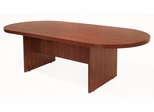 120 Inch Race Track Conference Table - Legacy Laminate - LCTRT12047
