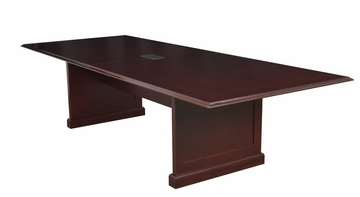 "120"" Rectangular Conference Table with Data/ Power Port - ROF-TVCTRC12048-MH"