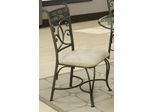 120830 Dining Side Chair with Upholstered Seat - Set of 2 - 120832