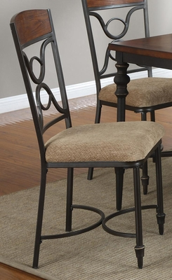 120850 Upholstered Dining Side Chair - Set of 2 - 120852