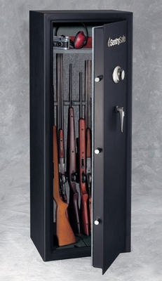 14 Capacity Gun Safe / Combination Lock with Full Service Delivery - Sentry Safe - G1459C
