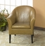 1404 Club Chair in Camel Leather - Armen Living - LCMC001CLCA