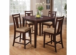 150150 5PC Espresso Pub Table Set - 150159