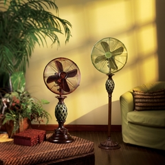"16"" Deco Floor Standing Fan - Paradiso- Deco Breeze - DBF0242"