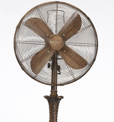 "16"" Deco Floor Standing Fan - Rococco- Deco Breeze - DBF0402"
