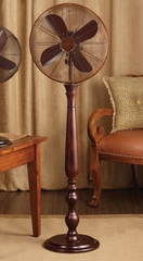 "16"" Deco Floor Standing Fan - Sutter- Deco Breeze - DBF0432"