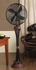 "16"" Deco Floor Standing Fan - Venezia- Deco Breeze - DBF0401"