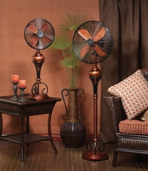 "16"" Floor Standing Fan - Byzantine- Deco Breeze - DBF0496"