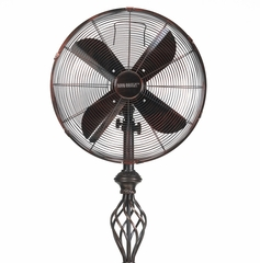 "16"" Floor Standing Fan - Presitge Rustica- Deco Breeze - DBF0502"