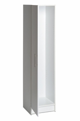 16 Inch Broom Cabinet - Elite Collection - Prepac Furniture - WEB-1664