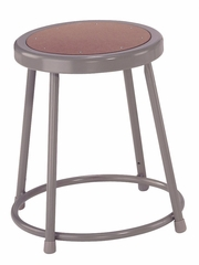 "18"" Lab Stool with Hardboard Seat - National Public Seating - 6218"