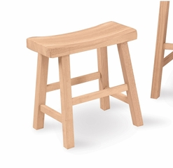 "18"" Saddle Seat Stool - 1S-681"