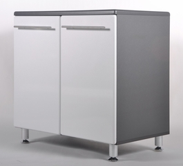 2-Door Base Cabinet in Starfire Pearl - Ulti-MATE Storage - GA-01SW