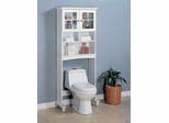2 Door Bathroom Rack with Shelves - 800094