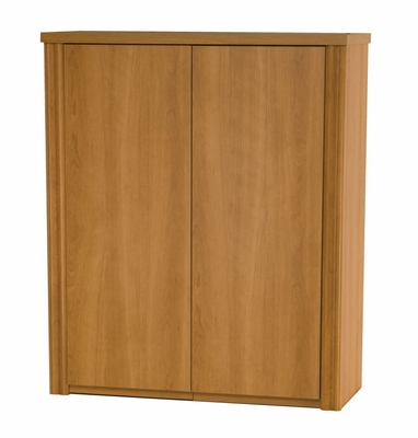 2 Door Cabinet in Cappuccino Cherry - Embassy - Bestar Office Furniture - 60510-68
