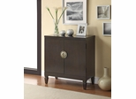 2 Door Cappuccino Accent Cabinet - 950079
