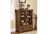 2 Door Curio Cabinet with 4 Shelves - 950186