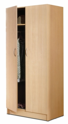 2 Door Wardrobe - Nexera Furniture - 564