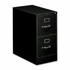 2 Drawer Filing Cabinet in Black - HON312PP