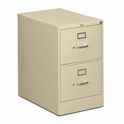 2 Drawer Filing Cabinet in Putty - HON312CPL