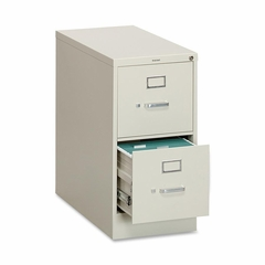 2 Drawer Filing Cabinet in Putty - HON312PL