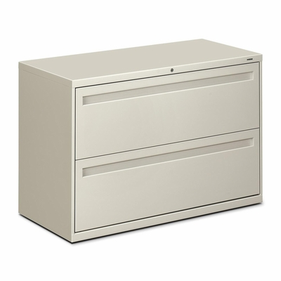 2 Drawer Lateral File - Light Gray - HON792LQ
