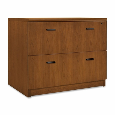 2-Drawer Lateral Filing Cabinet - Black Bar Hdl - HONPA636XB1HH