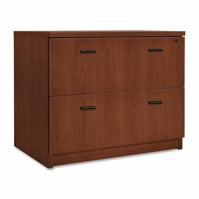 2-Drawer Lateral Filing Cabinet - Black Bar Hdl - HONPA636XB1JJ