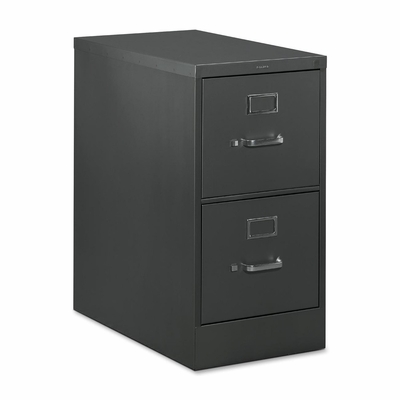 2 Drawer Letter File - Black - HONH322P