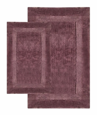 2-Piece Bath Rug Set in Amethyst - Olympia - 37653