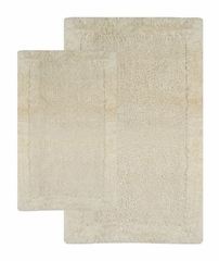 2-Piece Bath Rug Set in Ivory - Bella Napoli - 40111