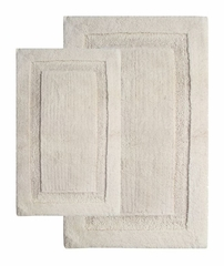 2-Piece Bath Rug Set in Ivory - Olympia - 37651