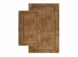 2-Piece Bath Rug Set in Linen - Olympia - 37650