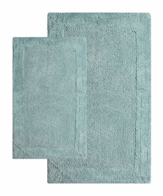 2-Piece Bath Rug Set in Moonstone - Bella Napoli - 40112