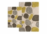 2-Piece Bath Rug Set in New Willow - Pebbles - 26652