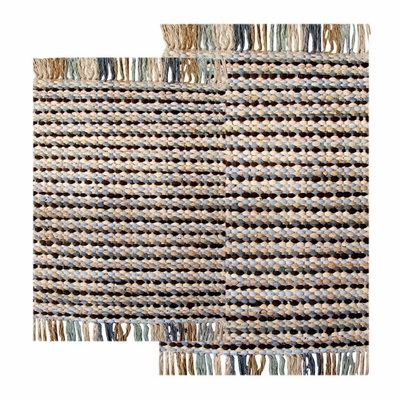2-Piece Chindi Accent Rug Set in Aquamarine - Stone Harbor - 41199