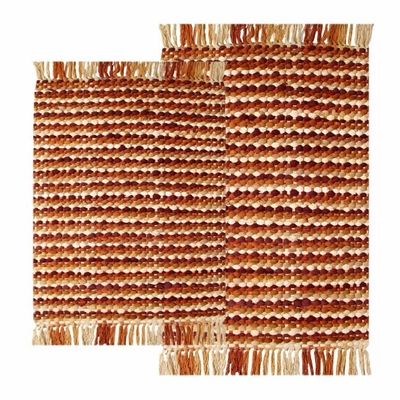 2-Piece Chindi Accent Rug Set in Spice - Stone Harbor - 41197