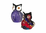 2-Piece Owl Figurines - Dale Tiffany