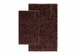 2-Piece Shag Accent Rug Set in Chocolate - Barbados - 13422