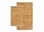 2-Piece Shag Accent Rug Set in Linen - Barbados - 13421